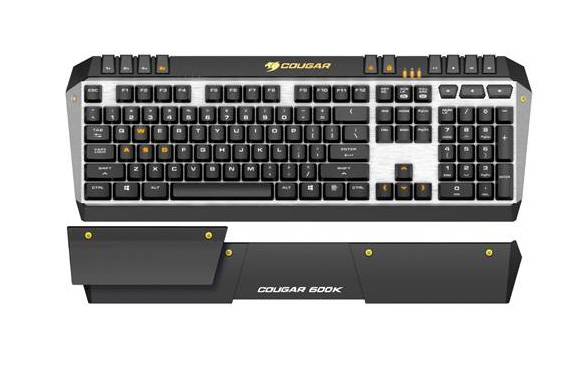 COUGAR launches 600K Gaming Keyboard