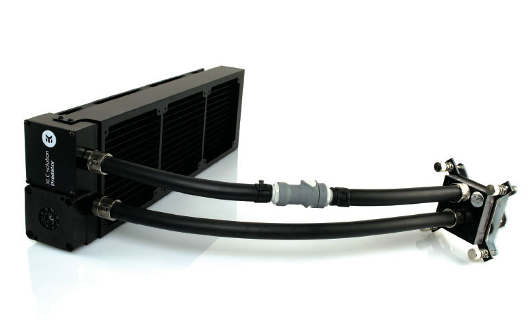 Get Free Shipping on the EKWB Predator AIO Liquid CPU Cooler