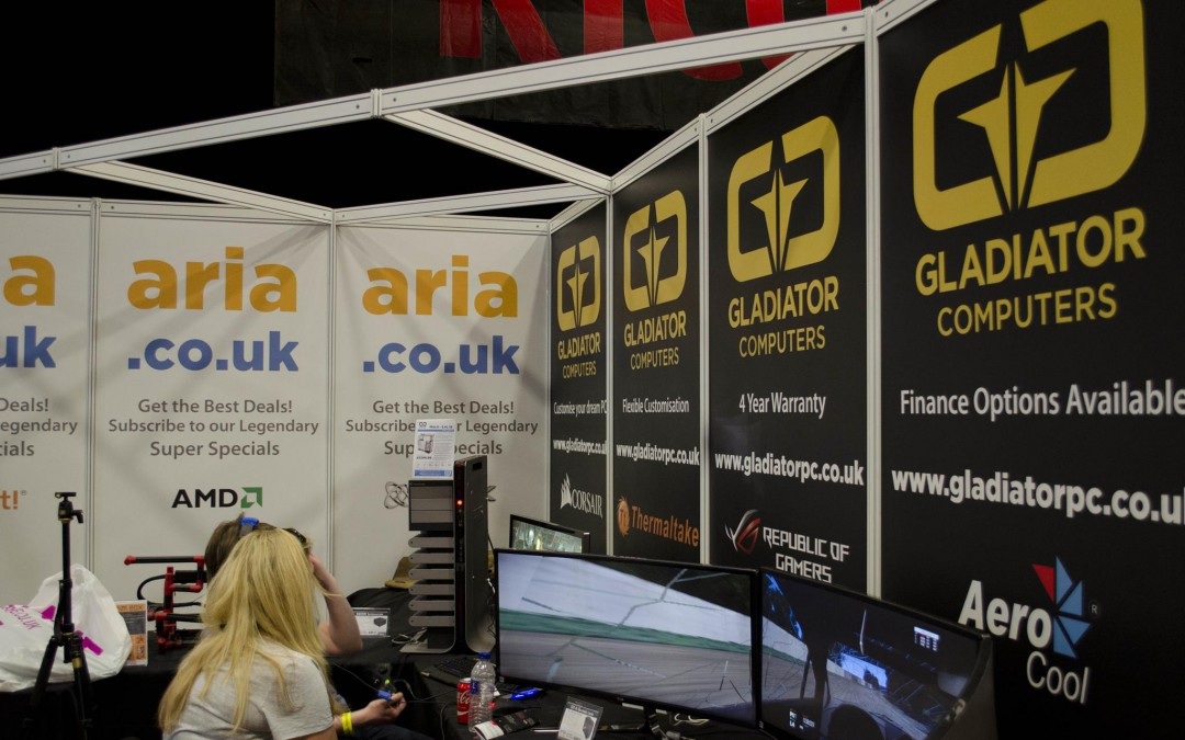 Aria and Gladiator PC at Multiplay I55