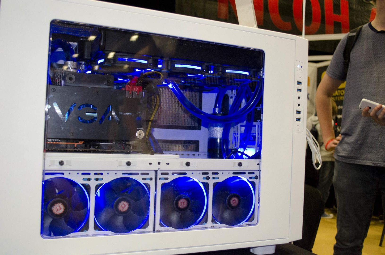 Aria and Gladiator PC at Multiplay Insomnia Gaming Festival I55_11