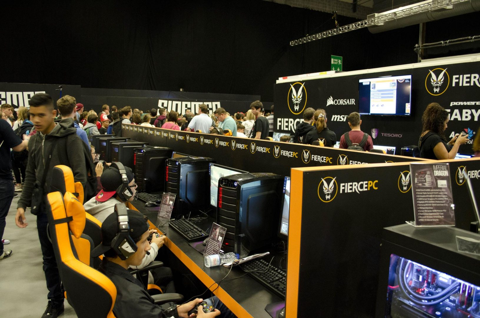 Fierce PC at Multiplay Insomnia Gaming Festival I55_5