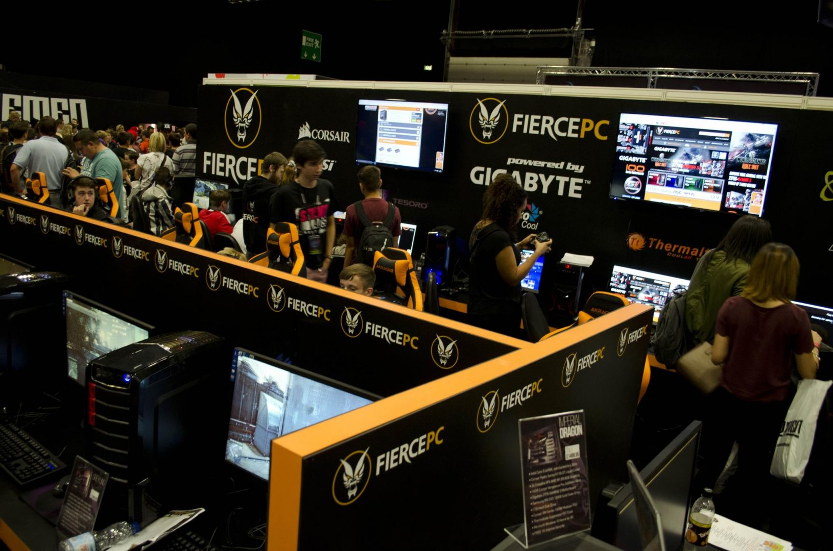 Fierce PC at Multiplay Insomnia Gaming Festival I55_6