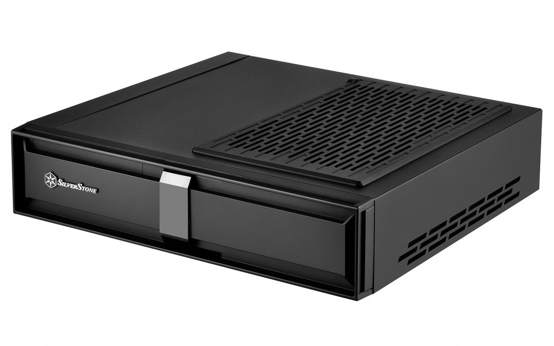 SilverStone Release The Milo ML08 Super Slim Mini-ITX Console Case