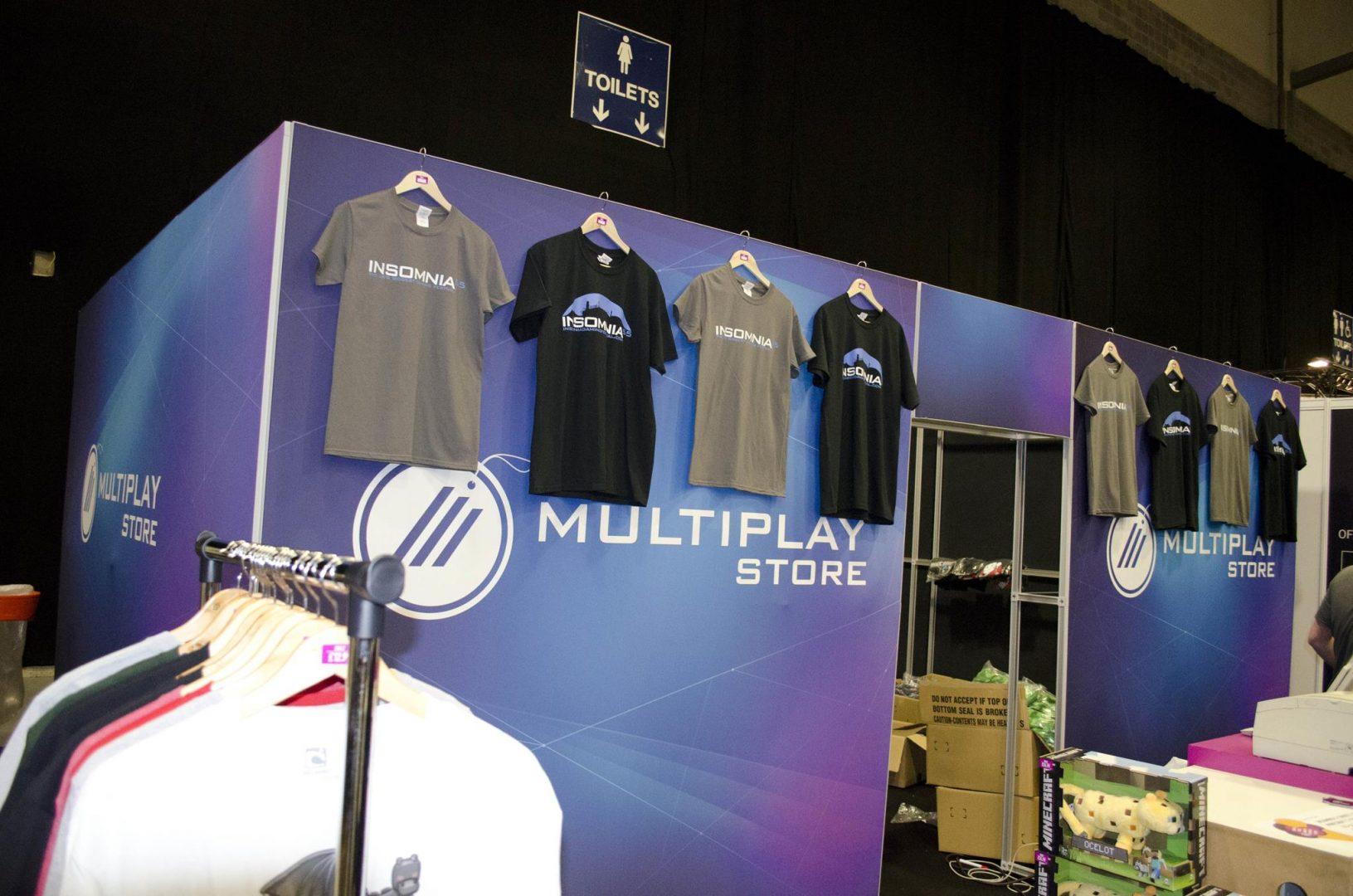 Multiplay Store at Multiplay Insomnia Gaming Festival I55