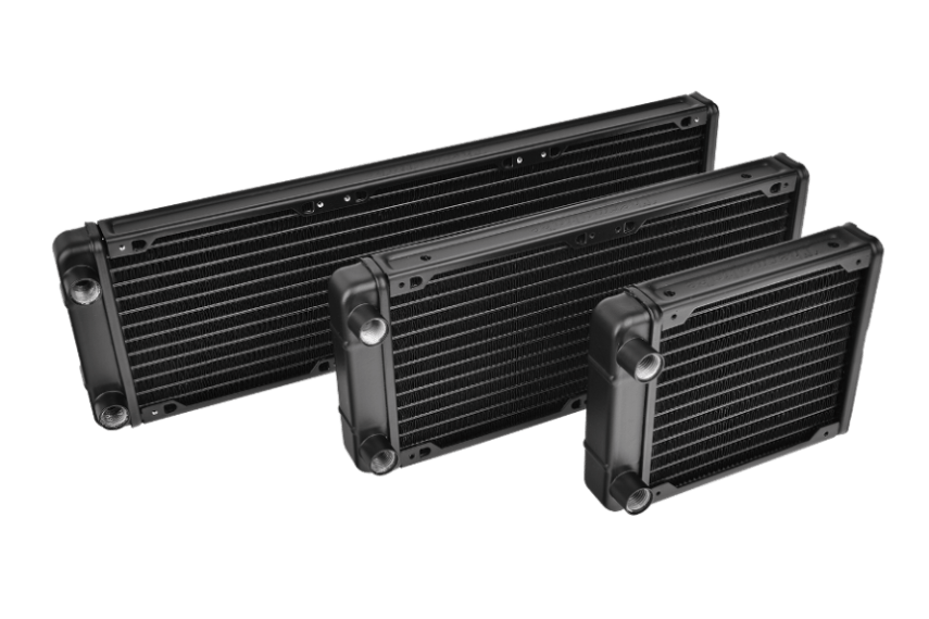 Thermaltake Pacific R120, 240, 360 Radiators
