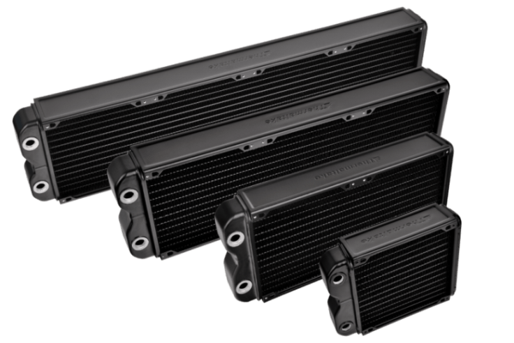 Thermaltake Pacific RL140, 280, 420, 560 Radiators