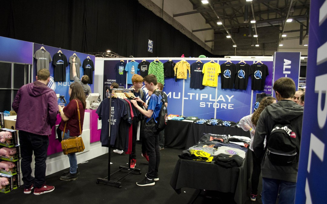 Multiplay Insomnia Gaming Festival I55 – Ricoh Arena, Coventry UK