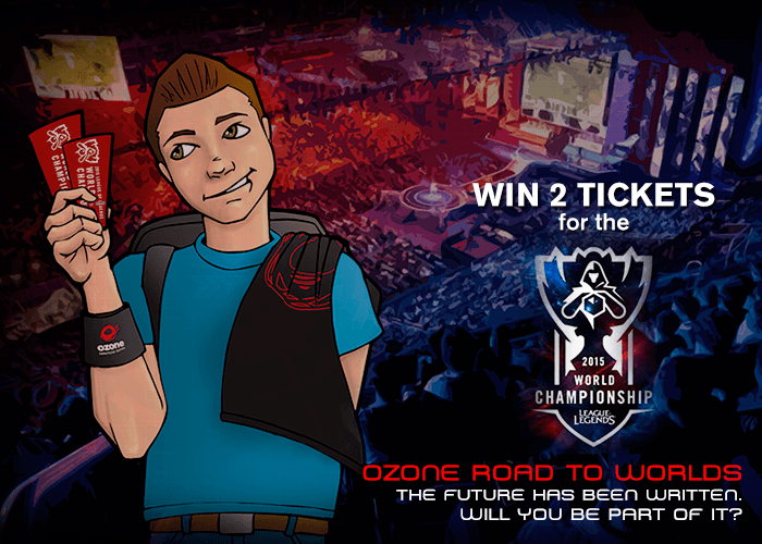 Ozone Gaming Gives You The Chance To Attend The LCS World Championship Finals