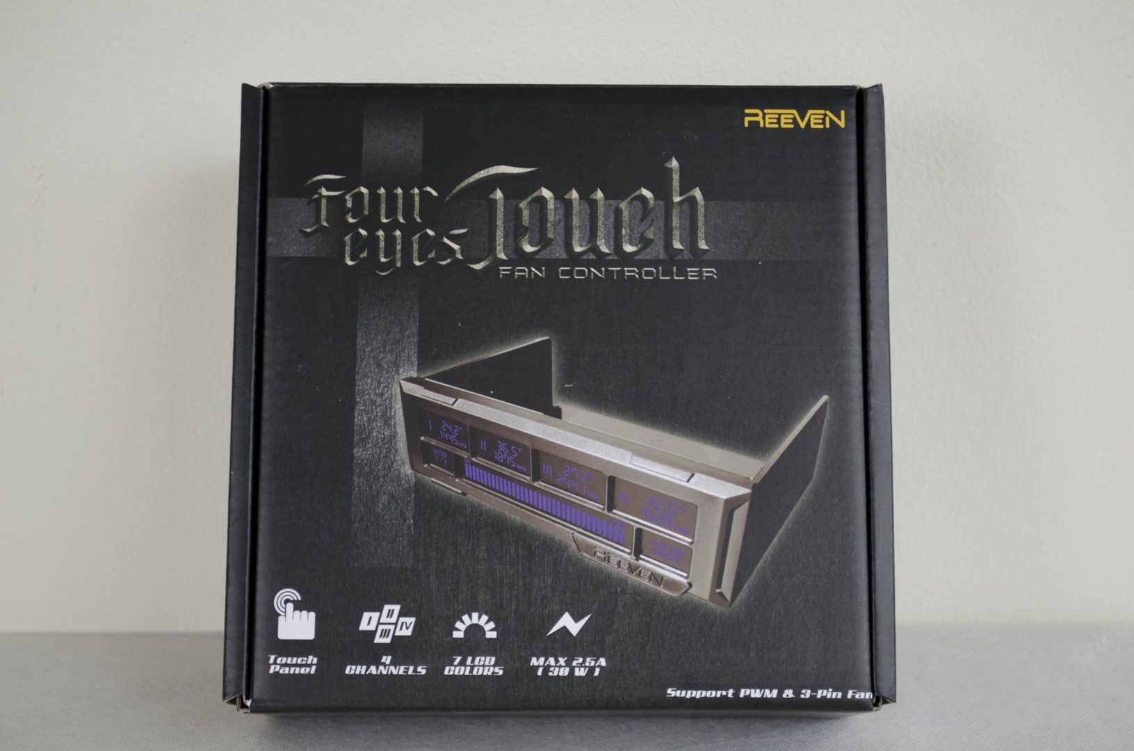 REEVEN Four eyes Touch Fan Controller