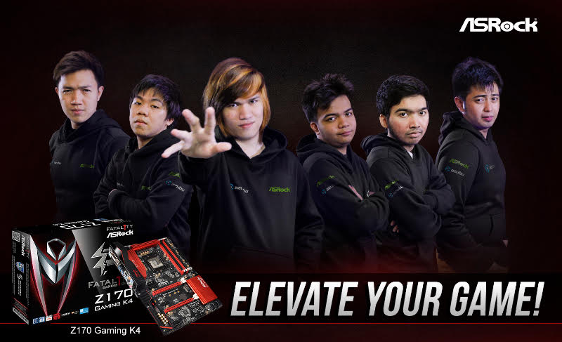 ASRock Announces Sponsorship of Philippine TNC Pro Team!