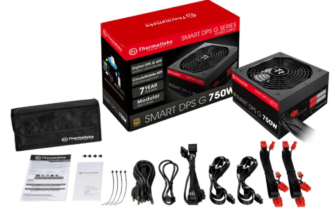 Thermaltake Smart DPS G Gold and Bronze Digital Power Supply Series