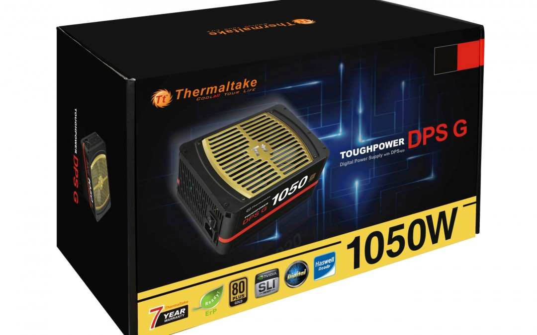 Thermaltake Toughpower DPS G Gold Series Smart Power Supply Units Smart Power Management Supported