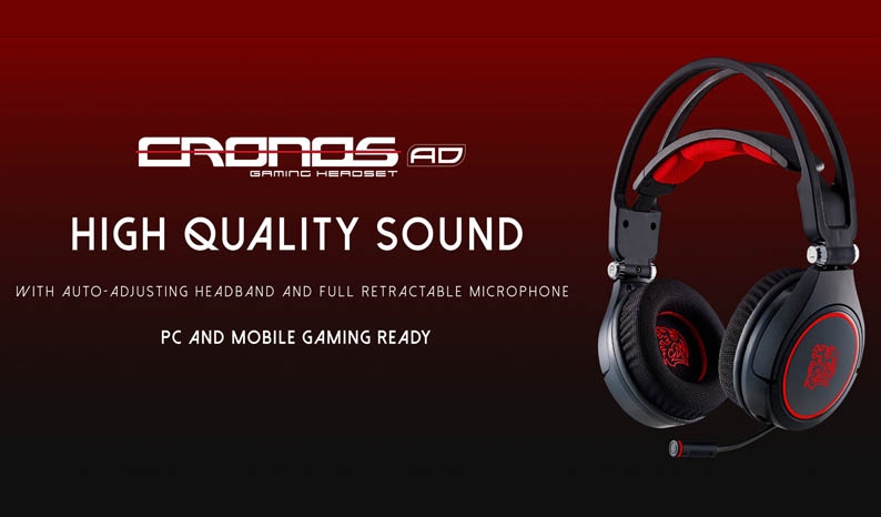 Tt eSPORTS unveils the NEW CRONOS AD Premium Gaming Headset