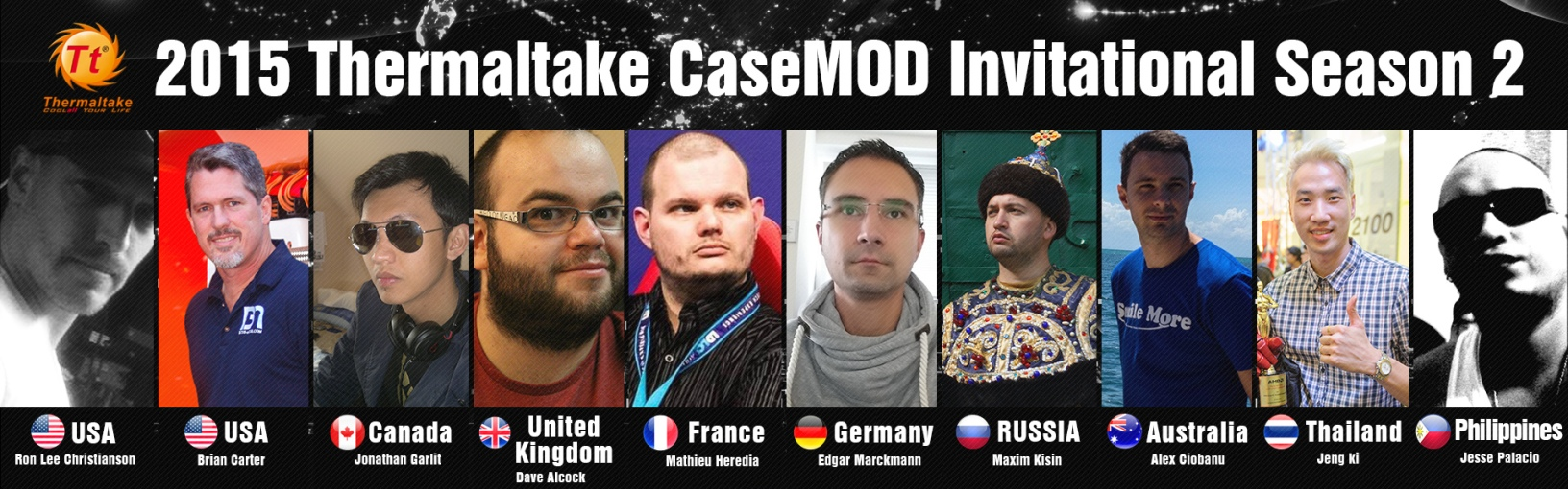 2015 Thermaltake CaseMOD Invitational Season 2 Voting Starts