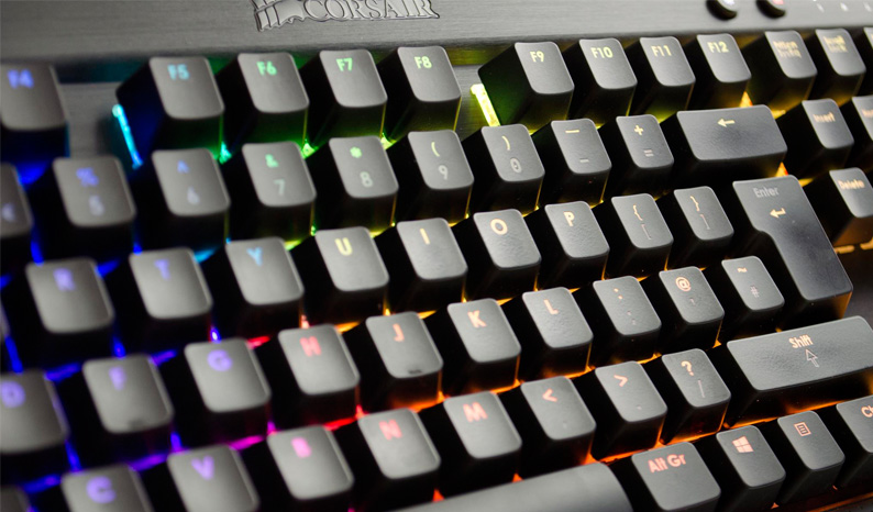 Corsair Gaming K70 RGB Mechanical Keyboard Review