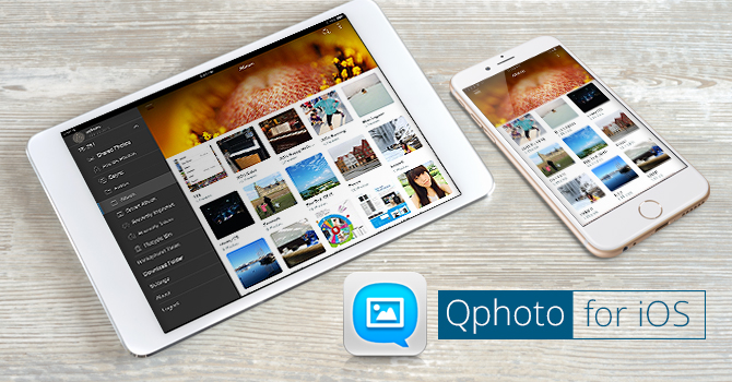 QNAP Release Qphoto App for IOS