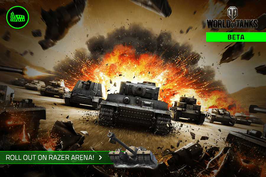Wargaming & Razer launch World of Tanks integration on Razer's competitive gaming platform
