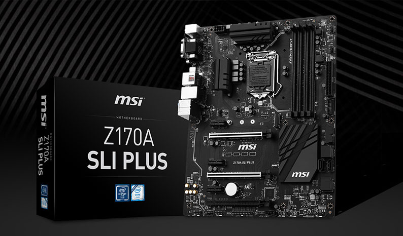 MSI LAunches Z170A SLI Motherboard