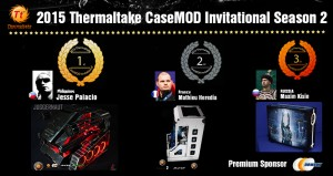 2015 Casemod Invitational Season 2 – Top 3 Winners
