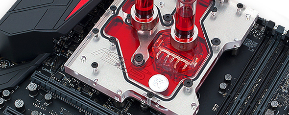 EK releases monoblock for ASUS® MAXIMUS VIII Extreme motherboard!