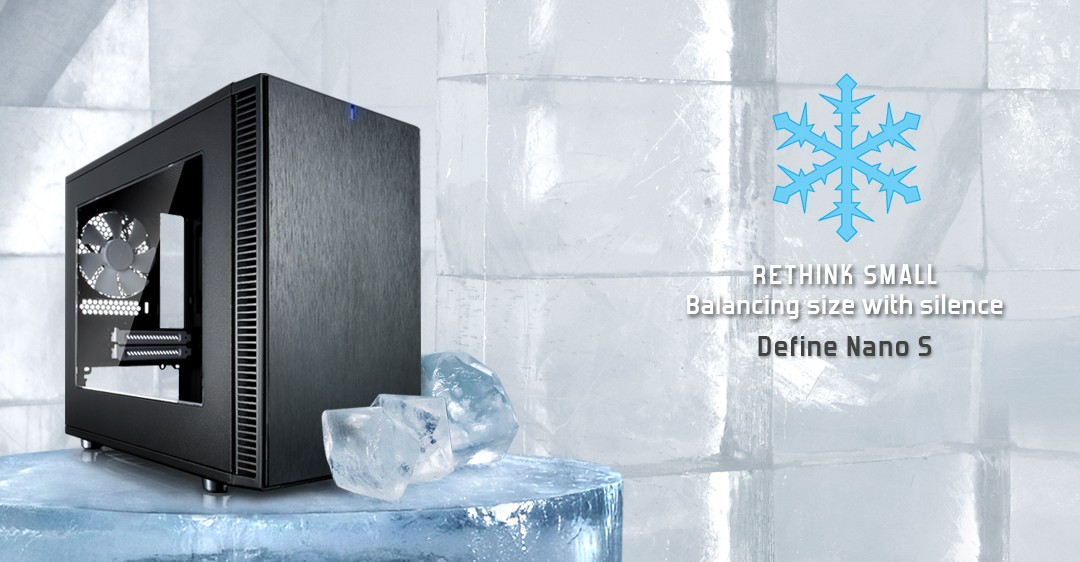 Fractal Design Introduces The Define Nano S