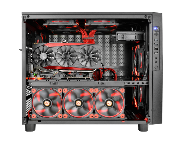 Thermaltake Core X5 Chassis- Chambers Concept
