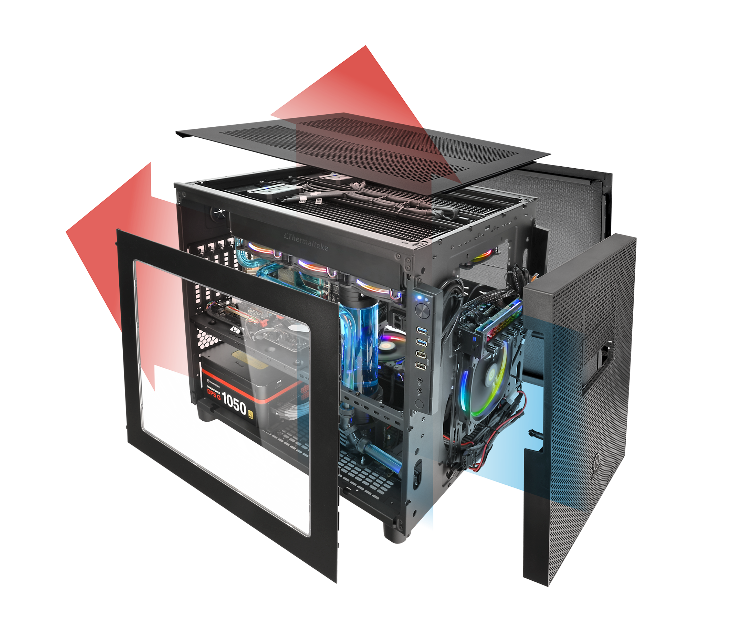 Thermaltake Core X5 Chassis- Outstanding Ventilation