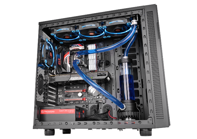 Thermaltake Pacific R360 Water Cooling Kit-System Installation