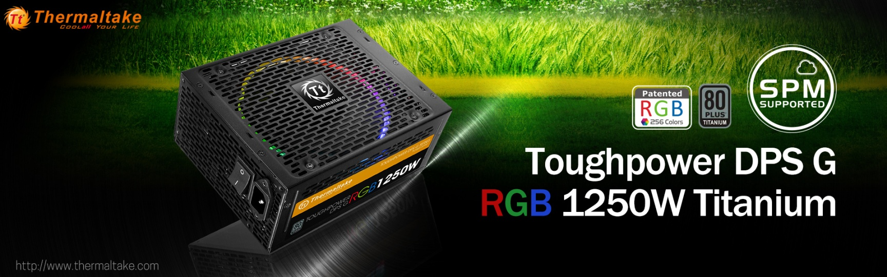 Thermaltake Toughpower DPS G RGB 1250W Titanium & SPM