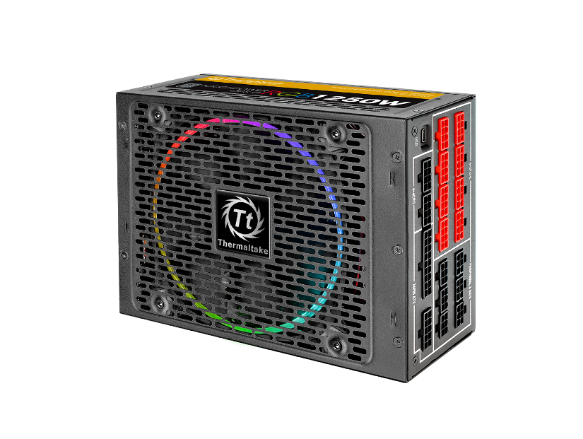 Thermaltake Toughpower DPS G RGB 1250W Titanium & SPM_3