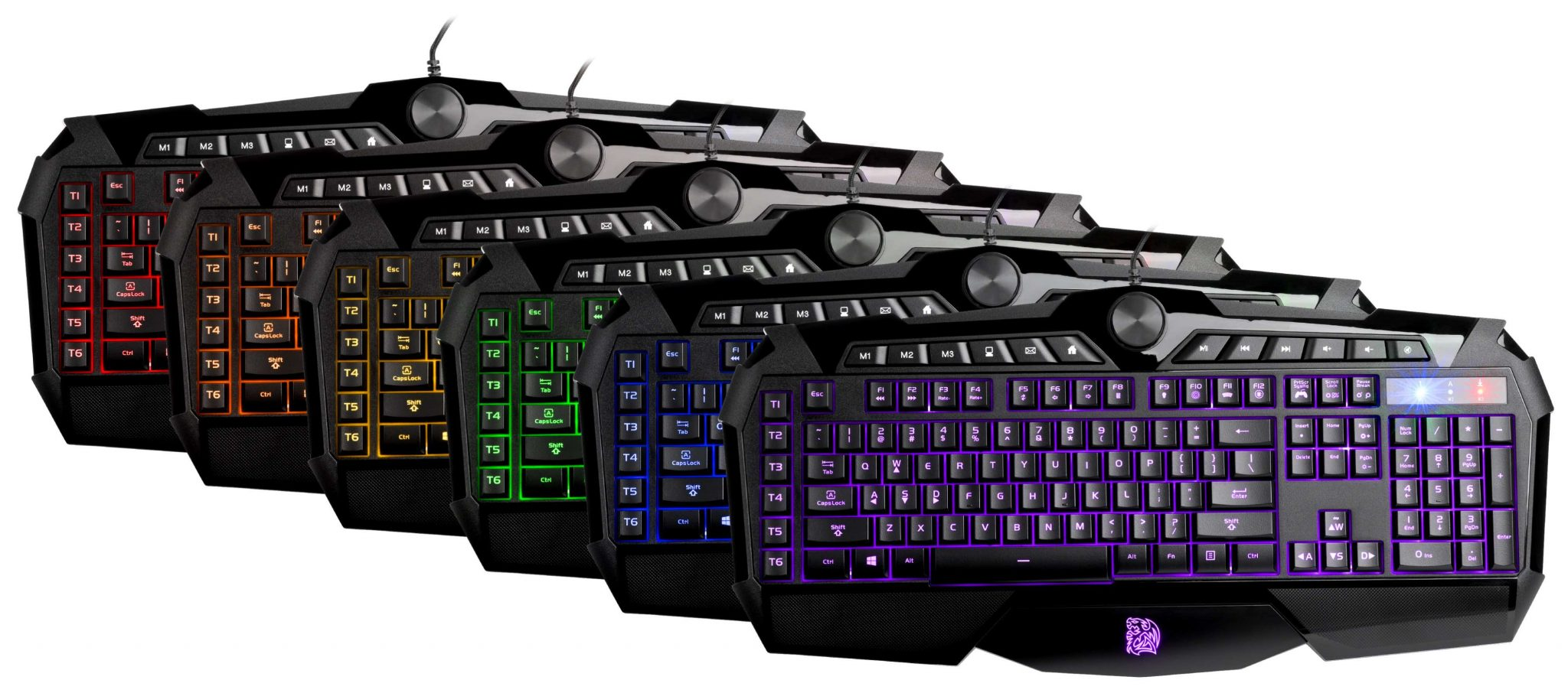 Tt eSPORTS CHALLENGER Prime RGB_Keyboard Combination