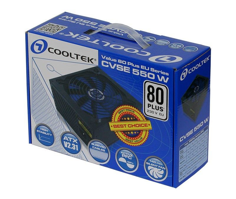Cooltek Announces New Value Serie 80 Plus Power Supplies