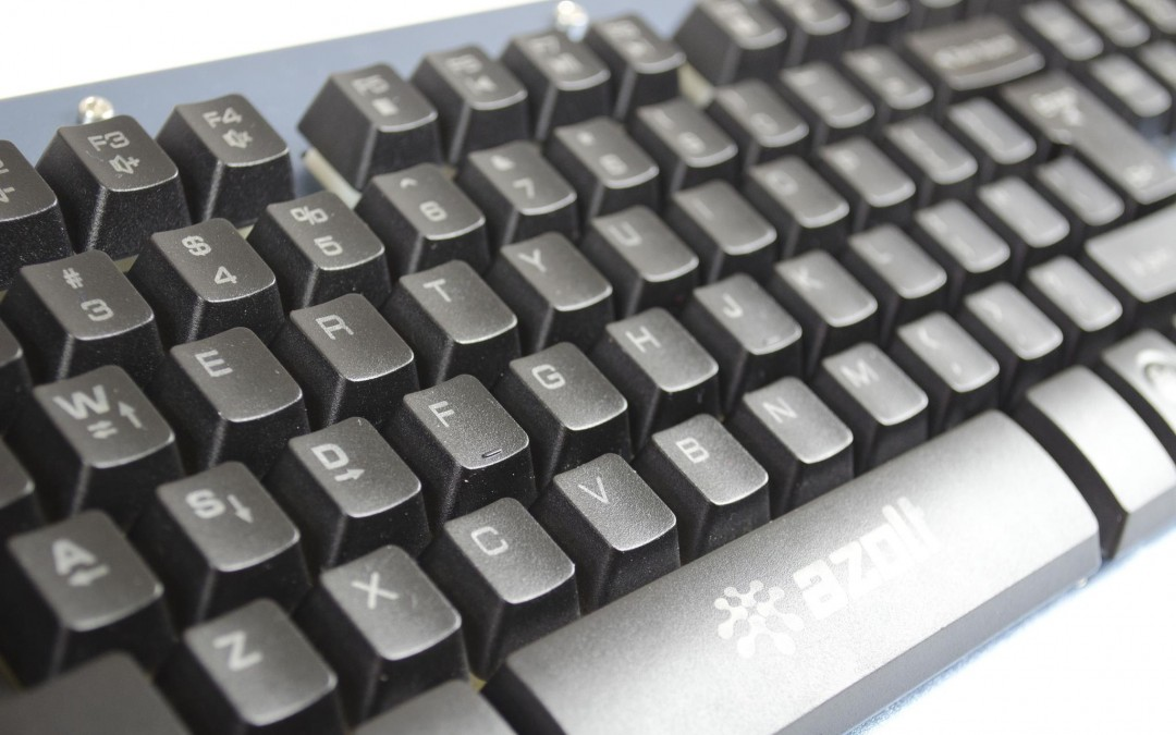 92236e3773c Azolt gCrusader Half-Mechanical Keyboard Review - EnosTech.com