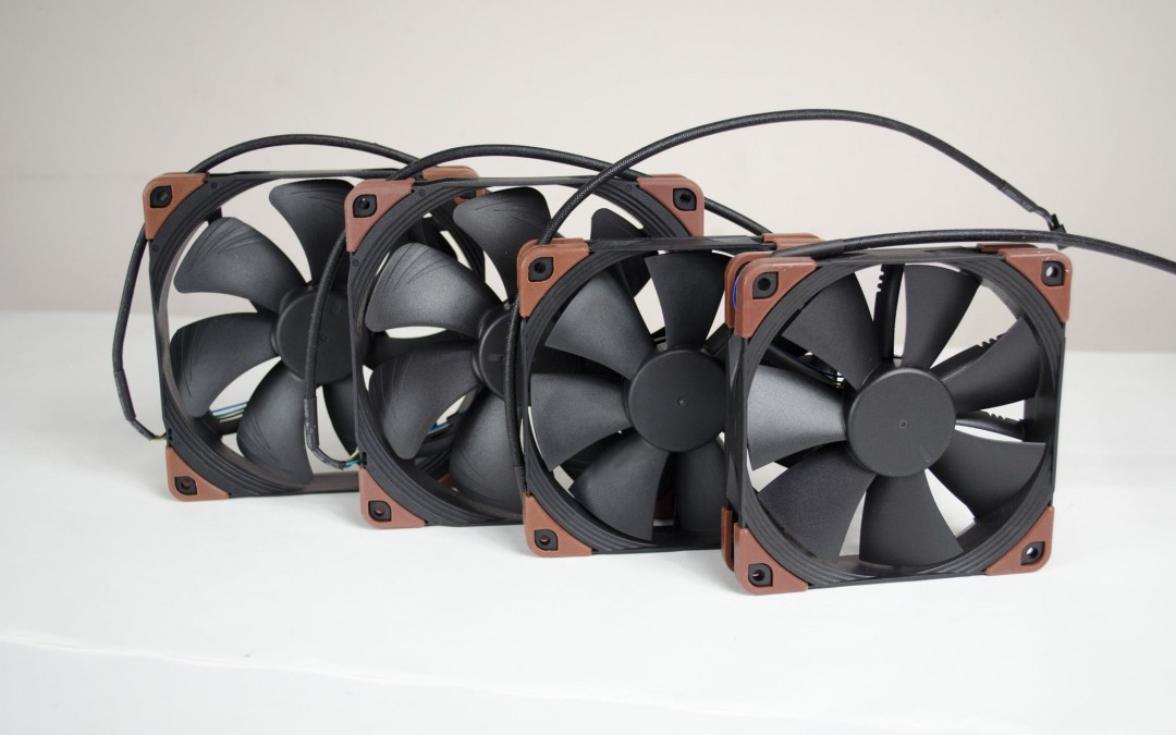 Noctua industrialPPC Fan Range Review