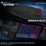 ROCCAT Releases Ryos MK FX Keyboard With Cherry MX Switches