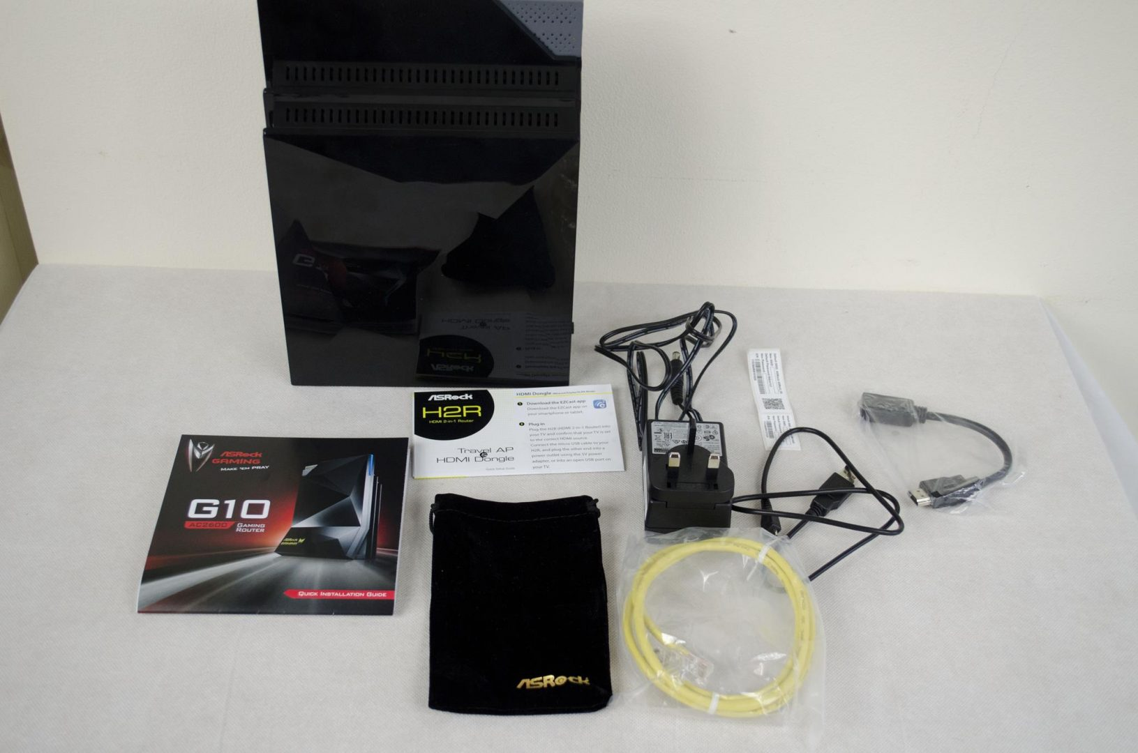 ASRock G10 Gaming AC2600 WiFi Router with H2R HDMI Dongle_1