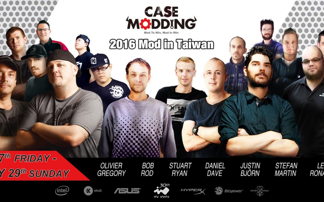 In Win Announces 'Mod in Taiwan' Live Case Modding Event
