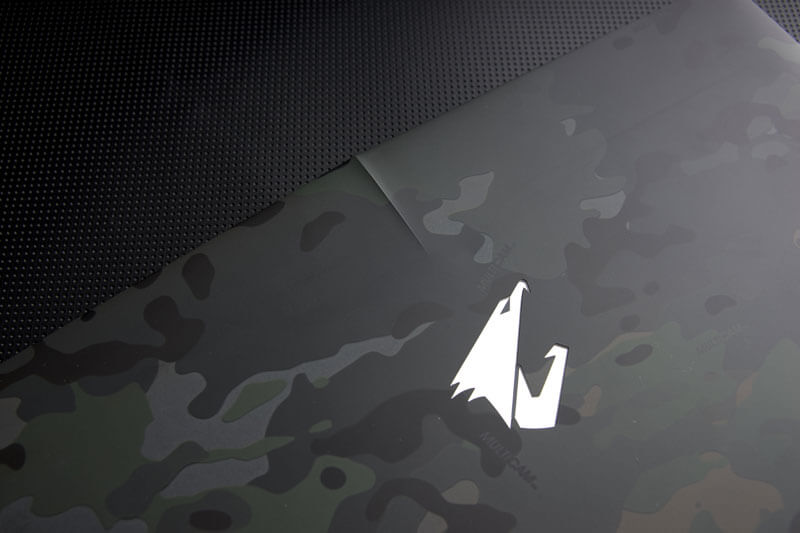 "AORUS Announces 2016 Limited Edition Camouflage Design 15.6"" Laptop in the UK"