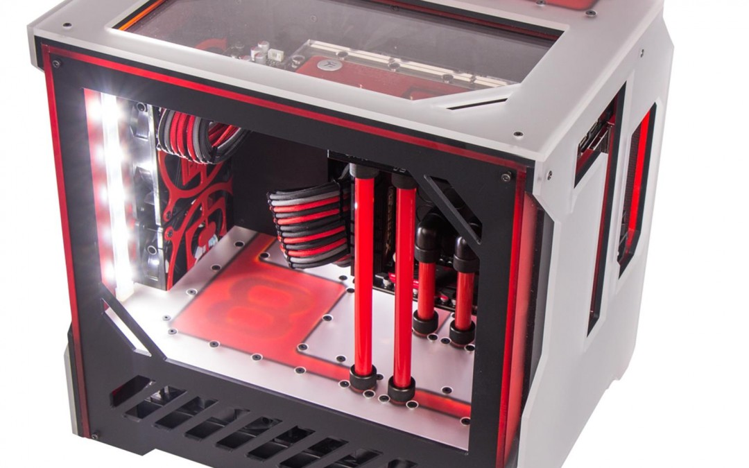 The most powerful Mini-ITX gaming system by 8Pack starting at £3989.99