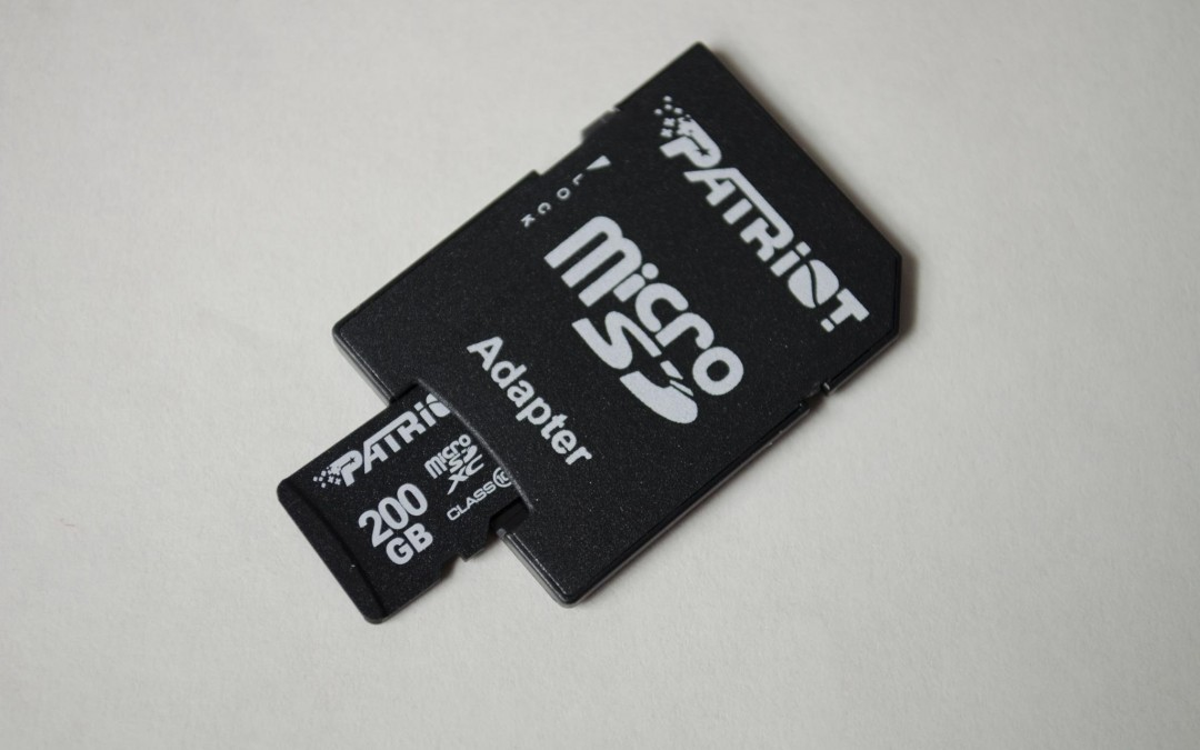 Patriot LX Series 200GB High Speed Micro SDXC Card Review