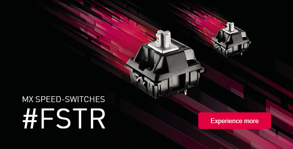CHERRY Releases New SPEED MX Switch