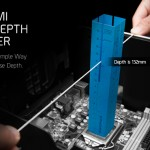 CRYORIG Origami Case Depth Checker, Case Compatibility Made Simple