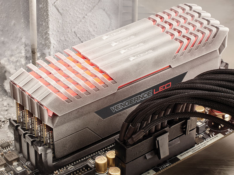 CORSAIR Lights Up DDR4 with New Vengeance LED Performance Memory