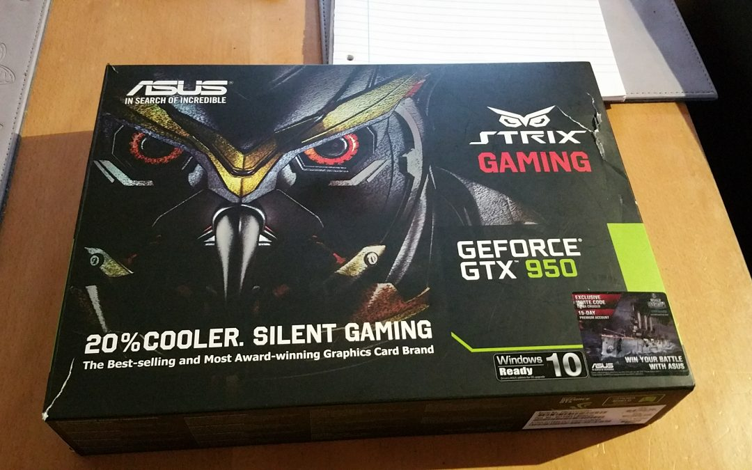 Enos Techs ASUS GTX Strix 950 Giveaway