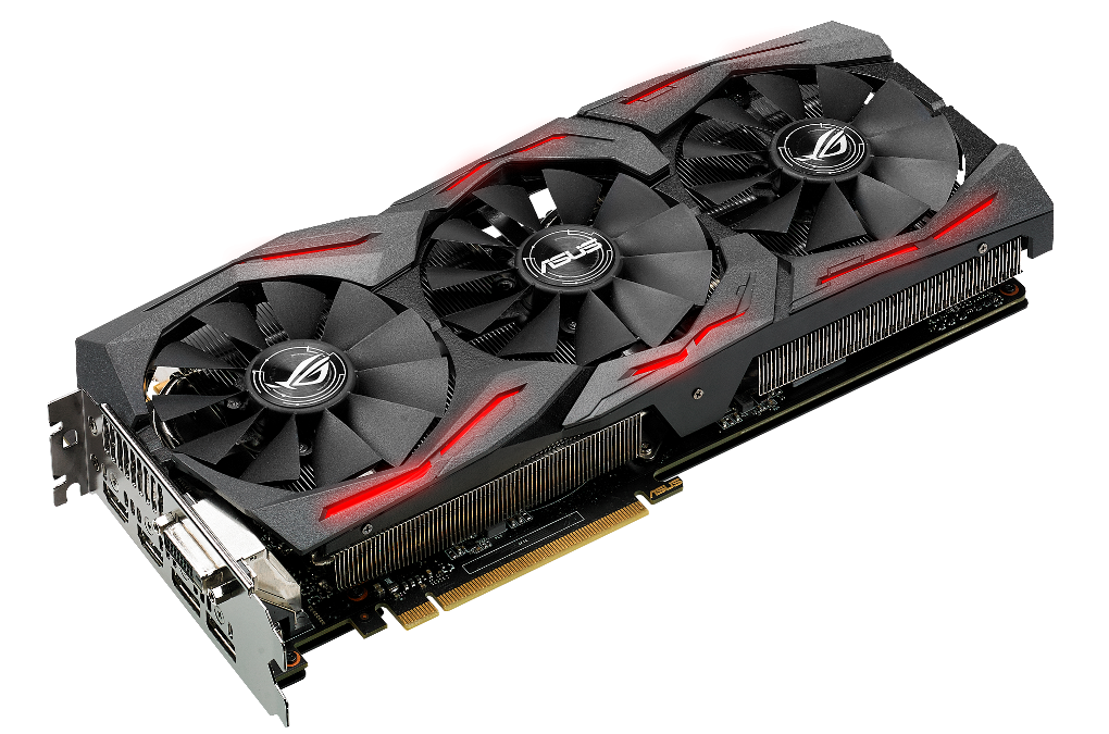 ASUS Republic of Gamers Announces Strix GeForce GTX 1080