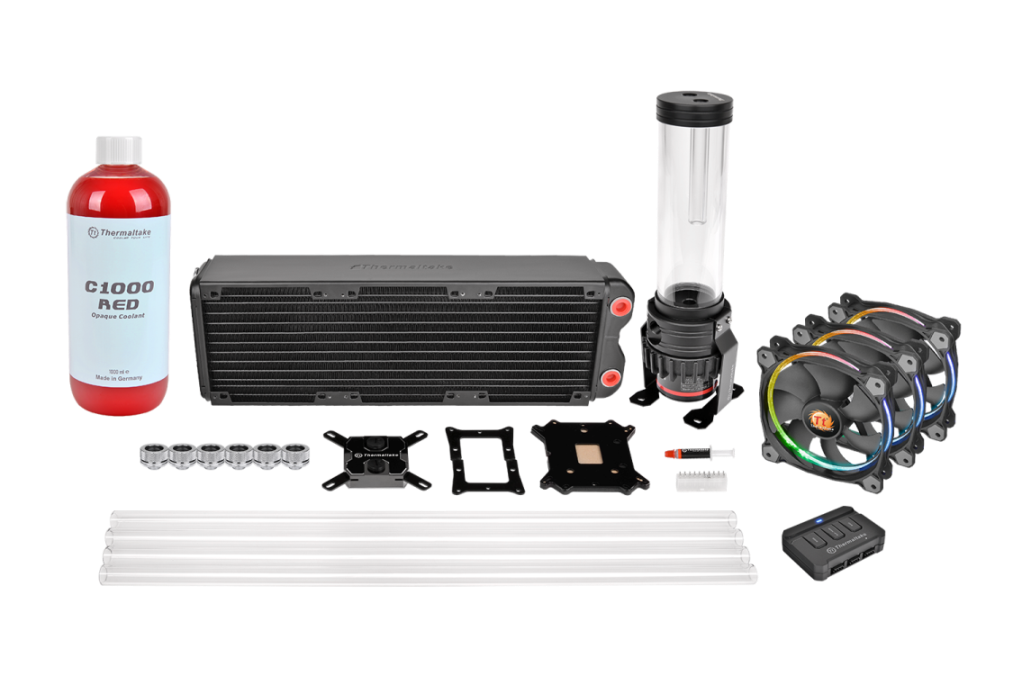Thermaltake Pacific RL360 D5 Hard Tube RGB Water Cooling Kit_1