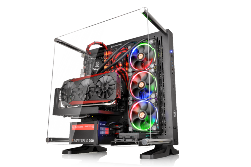 Thermaltake Core P3 Black Edition ATX Wall-Mount Chassis