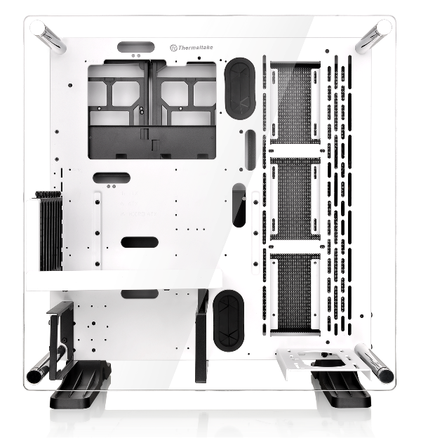 Thermaltake Core P3 Snow Edition ATX Wall-Mount Chassis-Fully Modular