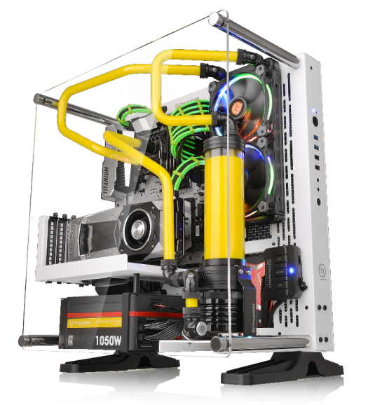 Thermaltake Core P3 Snow Edition ATX Wall-Mount Chassis