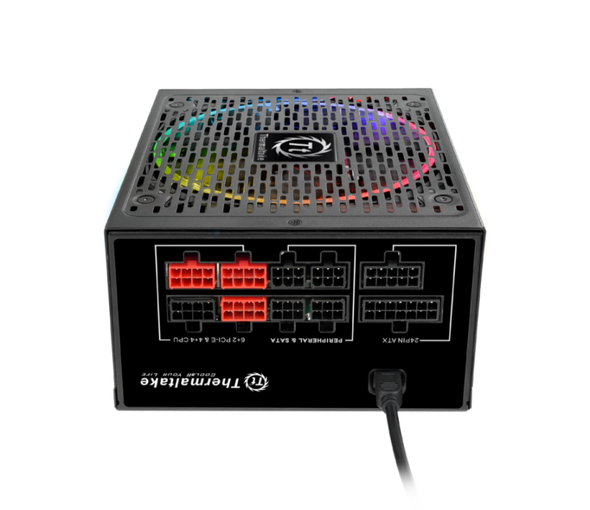 Thermaltake Toughpower DPS G RGB Gold Series Smart Power Supply Unit-Fully Modular Cable Design